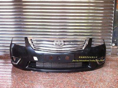 ※寶捷國際※ TOYOTA CAMRY 09 10 11 原廠式樣 前保桿總成+水箱罩 台灣製造
