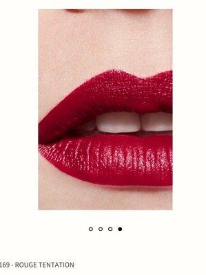 Chanel 香奈兒 超炫耀的唇膏 3g 色號 169 ROUGE TENTATION