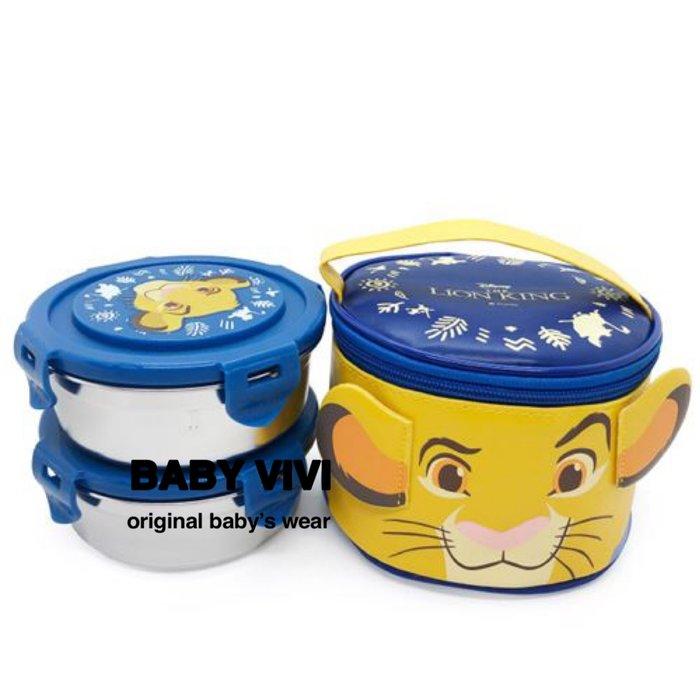 預購。正版授權獅子王304不鏽鋼圓形便當盒組(HBB90911-028)  *韓國空運來台