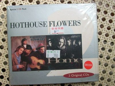 CD~Hothouse Flowers--Home//People(二張一套全新)