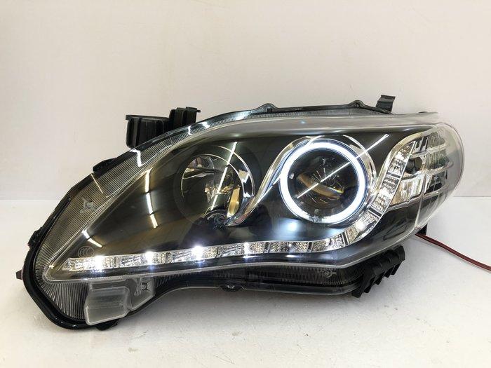 合豐源 車燈 ALTIS 10 11 12 13 魚眼 大燈 透鏡 LED 頭燈 10.5代 H7 光圈 R8 淚眼燈