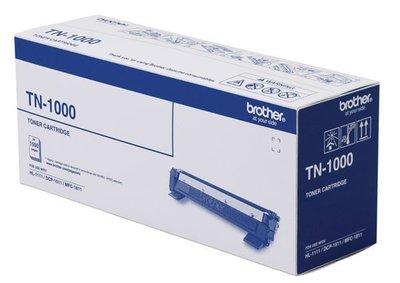 *3C百貨*(可重複使用) TN-1000 全新副廠HL-1110/DCP-1510/MFC-1815/HL-1210W