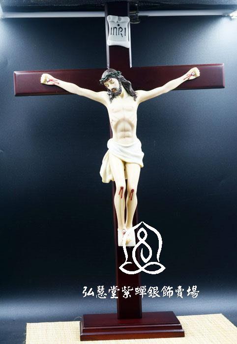 【弘慧堂】 缺貨精品外貿座式祭臺十字架苦像 天主教聖物耶穌基督聖母瑪利亞