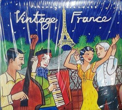 詩軒音像Putumayo Presents Vintage France 古老的法國 音樂CD-dp070