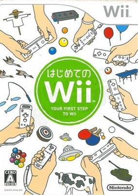 【二手遊戲】Wii 第一次接觸 Wii Play 日文版 日規台規通用【台中恐龍電玩】