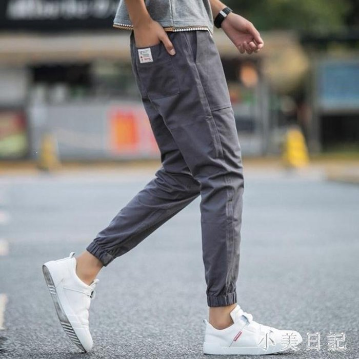 YEAHSHOP 大碼休閒褲子 男秋韓版潮流港風Y185