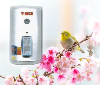 【 達人水電廣場】 全鑫 CK-B12 電能熱水器 12加侖 電熱水器 (直掛式) 6KW