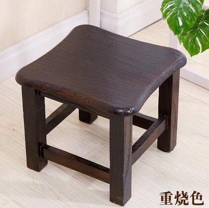 家用凳子時尚實木創意板凳小方凳矮換鞋凳客廳簡約現代原木茶幾凳