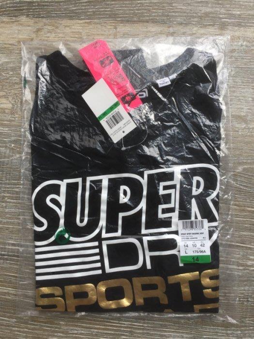Superdry 極度乾燥 現貨 連身 舞衣 韻律衣 運動衣 背心 t恤 黑色 女生