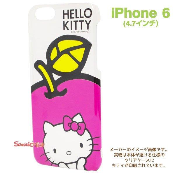 """《東京家族》""""特價出清""""正版hello kitty 凱蒂貓 大蘋果 iphone 6  4.7吋 手機殼 保護殼"""
