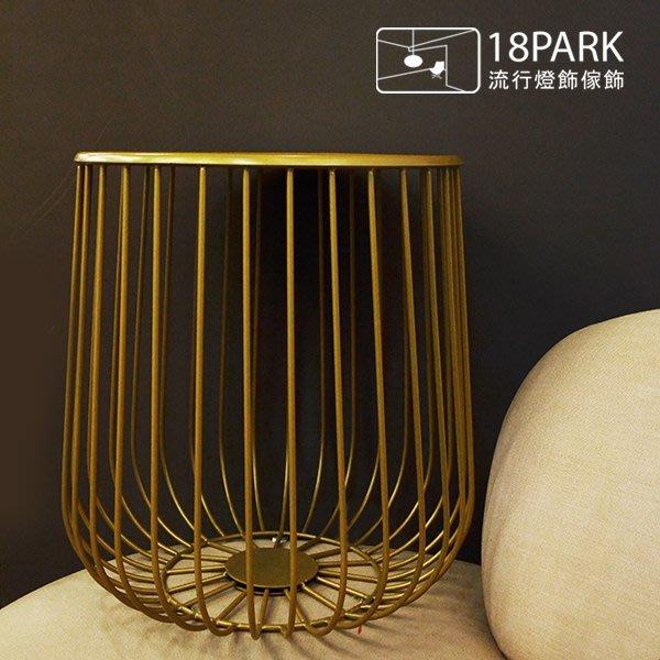 【18Park】金色簡約 Golden homes [ 金舍茶几-小金 ]