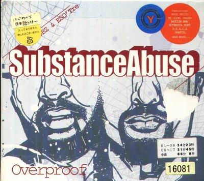 K - Substance Abuse - Overproof - 日版 CD+2BONUS