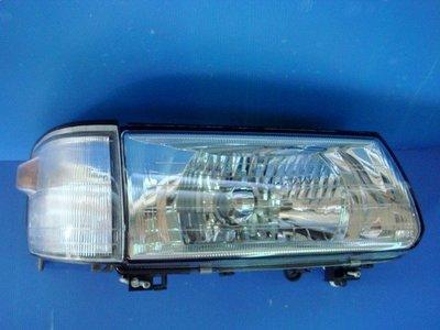 小亞車燈╠ 全新超亮 三菱 得利卡 DELICA 94 -08年 晶鑽 玻璃 H4 大燈 組 一顆1000元