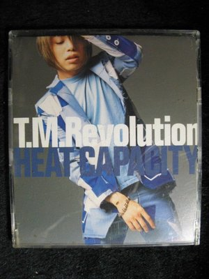 T.M.R. - Heat Capacity - 西川貴教 日本TMR 樂團 - 2000年單曲EP版 - 81元起標