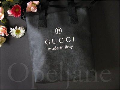 GUCCI 義大利製防水PVC超大托特包斜背包托特包真品出國旅遊包 免運費