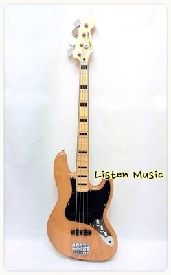 立昇樂器 Fender Squier Vintage Modified J-Bass '70s NAT 電貝斯