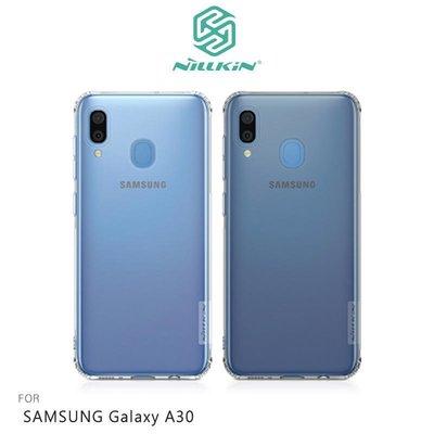 *phone寶*NILLKIN SAMSUNG Galaxy A30 本色TPU軟套 吊飾孔 保護套 手機殼 透色 超薄