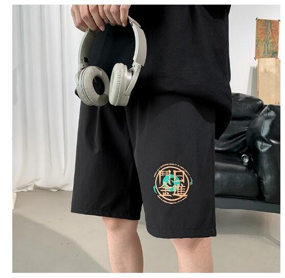 FINDSENSE X 休閒 工裝短褲 多口袋 短褲多袋 速乾 運動 男式 短褲 五分褲 短褲