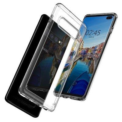 襯托裸機之美 Spigen Galaxy S10+ Liquid Crystal-手機保護殼 晶透手機殼 透明背蓋