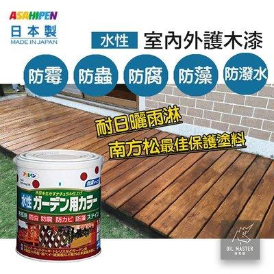 日本製 室內外/庭院木製品 水性護木漆...