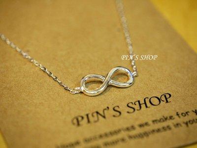 【Pin's shop】無限符號純銀手環