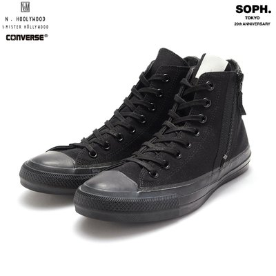 19AW SOPHNET x N.HOOLYWOOD CONVERSE ALL STAR HI ZIP UP 全新正品公司貨含運 現貨 28cm SOPH