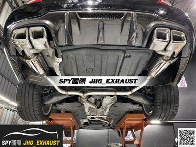 JHG_Exhaust 賓士 Benz W204 C250中尾段 閥門雙尾桶排氣管