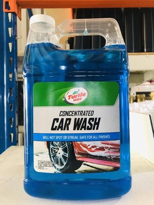 『油工廠』TURTLE WAX 美國龜牌 CONCENTRATED CAR WASH 濃縮洗車精 T149R 3.4L