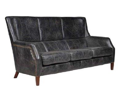 【台大復古家居】舒適 高背沙發 Chelsea Sofa【油染皮 單人_雙人_三人】HALO Andrew Martin