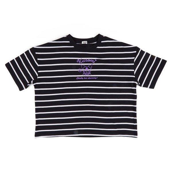 【莓莓小舖】正版 ♥ 日本進口 正版 Sanrio 三麗鷗 Kuromi 酷洛米 休閒棉質圓領短袖上衣 T恤