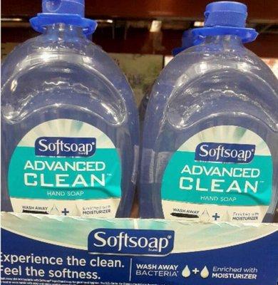 SOFTSOAP 清潔洗手乳2.36公升二入-吉兒好市多COSTCO代購