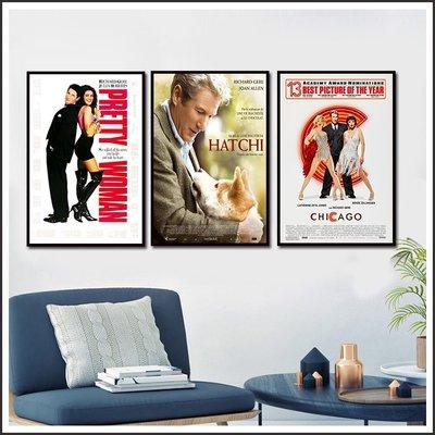 忠犬小八.芝加哥.麻雀變鳳凰.驚悚 電影海報 藝術微噴 掛畫 嵌框畫 @Movie PoP 賣場多款海報#