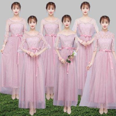 禮服 伴娘禮服裙女2018新款姐妹團閨蜜裝韓版短款新娘結婚   全館免運