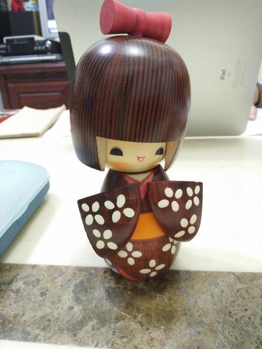 小柚小女孩木雕飾品