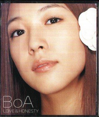K - BoA 寶兒 - LOVE&HONESTY - 日版 權寶雅