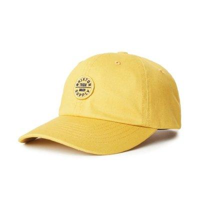 【ScrewCap】BRIXTON Oath LP Cap - Sunset Yellow