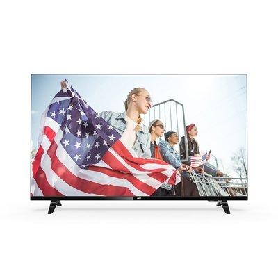 小妞馬麻 專屬賣場 AOC美國55吋 4KUHD 聯網 液晶顯示器 + 視訊盒 55U6090 宅配*3