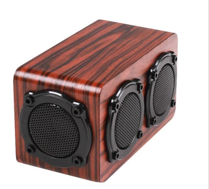 S403木質藍芽喇叭 音質保證-實木手感 12w 猛烈輸出 2個全頻喇叭 木質無線藍牙音箱 低音炮音響 4927