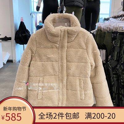 日韓美專代紐約跑跑 女裝Calvin Klein/CK 秋冬新品女士保暖立領羊羔絨外套