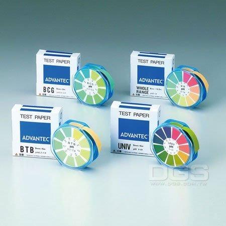 『德記儀器』《ADVANTEC》日本東洋 ph酸鹼試紙 5.0~8.0 食物 液體檢測