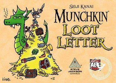 骰子人桌遊-(超優惠.送厚套)情書:小白世紀版Munchkin Loot(送小白Promo)