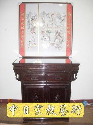 【現代佛堂設計鑒賞43】神明廳佛俱精品神桌佛桌神櫥公媽桌神像佛像祖先龕神聯佛聯製作