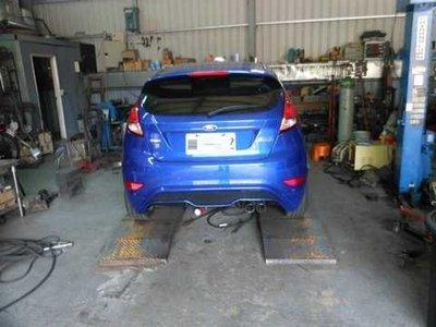 [排氣管工匠 ]  Ford  Fiesta EcoBoos   排氣管 內部結構改良 (全台獨家專利研究)