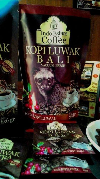 巴里島金塔馬尼純野生麝香貓研磨咖啡Authentic wild Kopi Luwak Bali