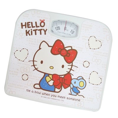 GIFT41 4165本通 三重店 凱蒂貓 指針體重計 HW-320W 4710891163079
