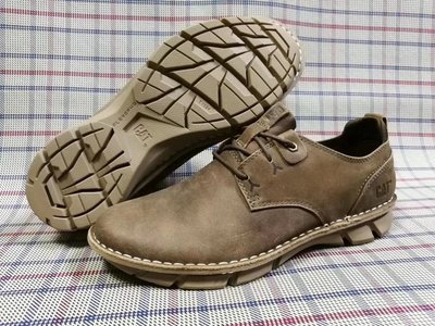 正品CAT卡特春夏新款牛皮低幫輕便透氣戶外休閑鞋男鞋P722398