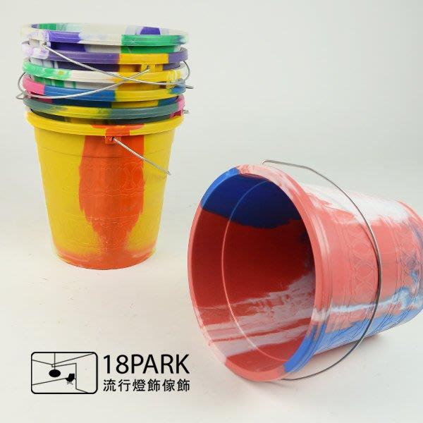 【18Park 】日系原版代理 Marble pattern [ 大理石紋桶-鐵提把/小款 ]