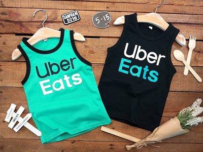 ♥【BC5286】台製男童裝Uber Eats無袖T恤 2色 (現貨) ♥