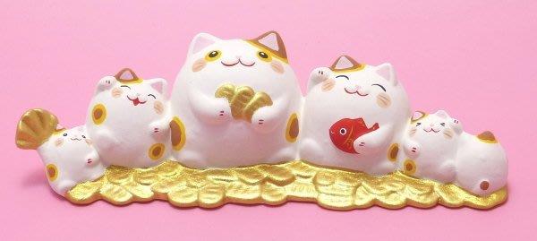 日本 貓咪招財擺飾