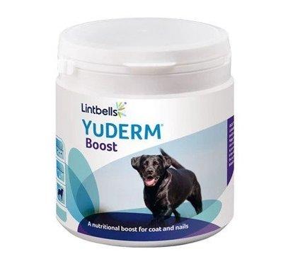 YuDERM Boost優美登爆毛粉(犬貓食品)~英國Lintbells寵物營養品NO.1 寵物狗貓適用